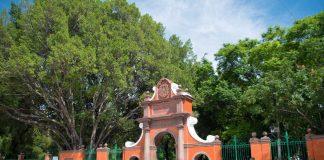 Entrada a la Alameda por Av. Zaragoza Querétaro