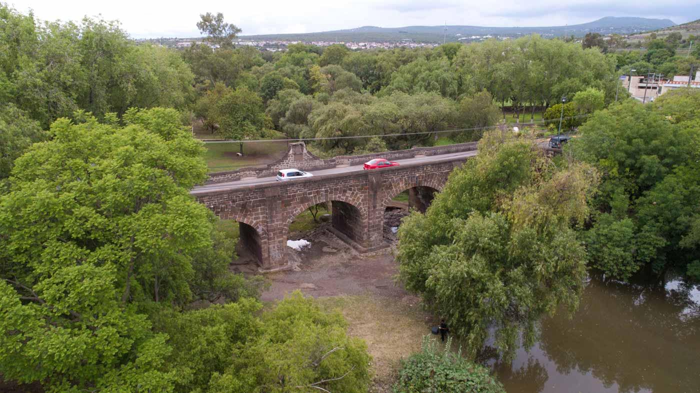 Puente de La Historia San Juan del Rio