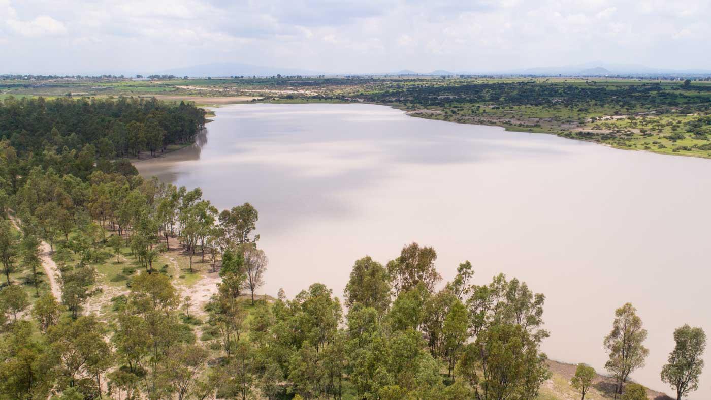 Presa San Gilberto en Cazadero, San Juan del Río