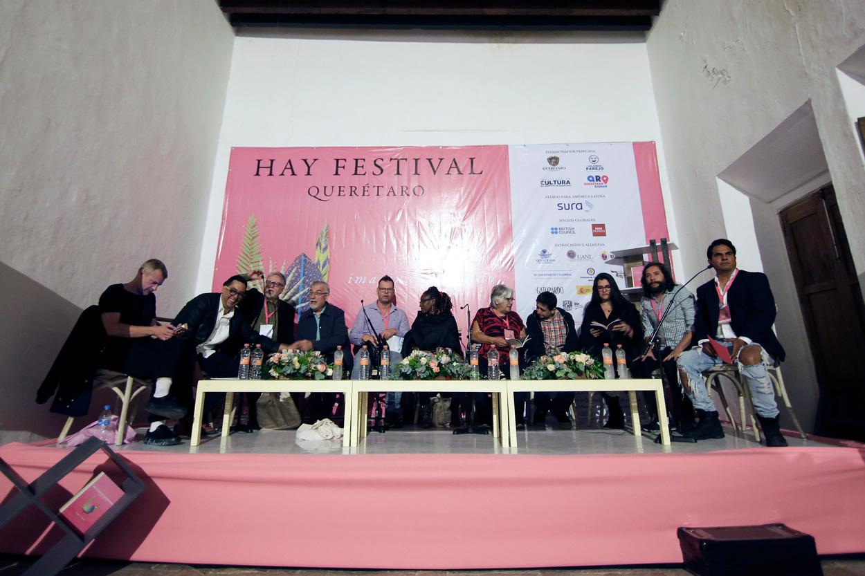 Gala de Poesía Hay Festival Querétaro