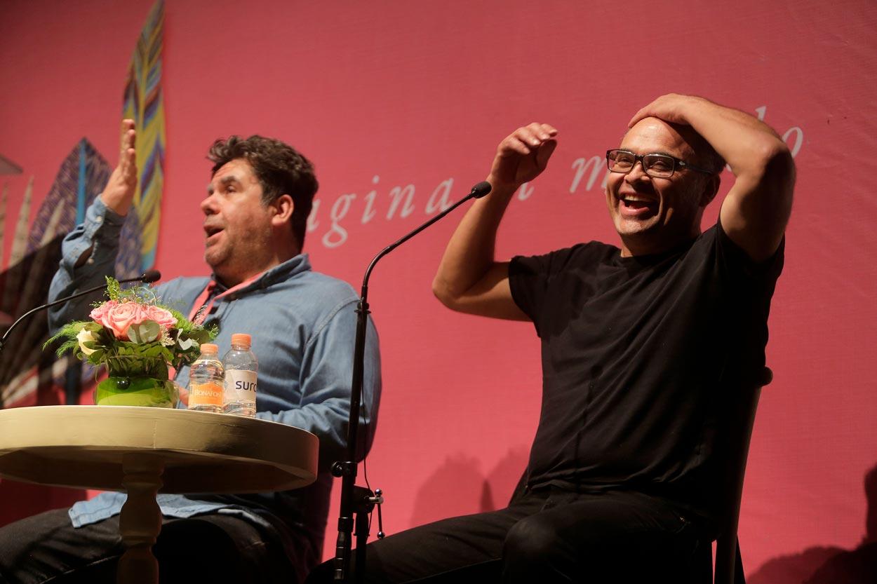 Joselu y Rulo en conversación para el Hay Festival Querétaro 2017