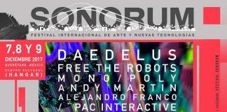 Parte oficial de festival SONORUM 2017 Querétaro