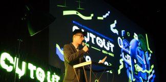 Director del CutOut en la inauguración del festival