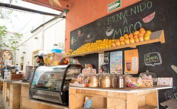 Maco Café Restaurante en El Centro Histórico de Querétaro