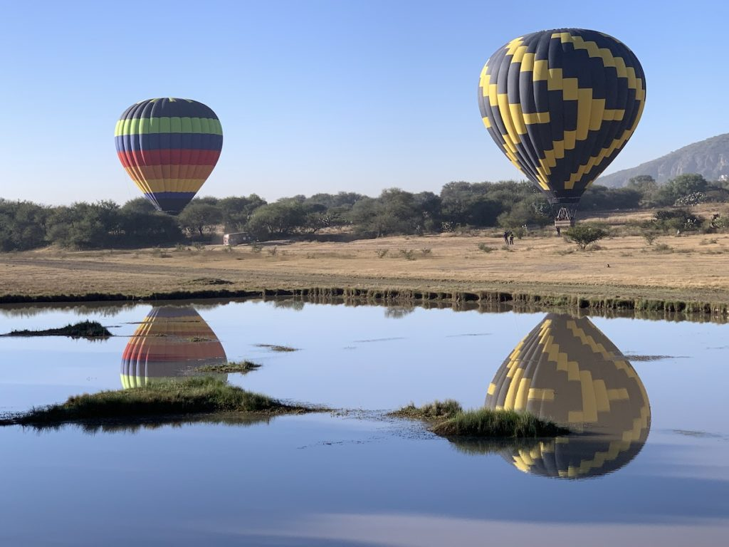 Vuela en globo Tequisquiapan